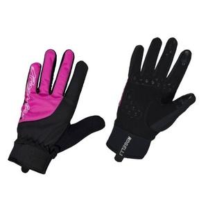 Femeii ciclism manusi Rogelli Furtuna, 010.656. negru și roz, Rogelli