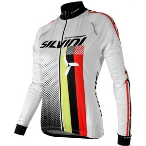 femeiesc ciclism jersey Silvini ECHIPA WD834 alb, Silvini