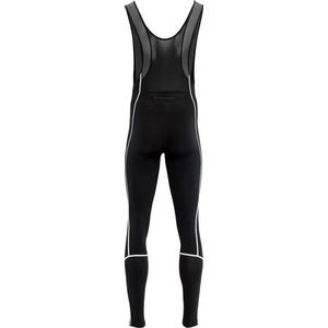 Pentru bărbaţi elastic iarna pantaloni Silvini RUBENZA MP1317 negru, Silvini