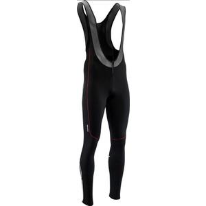 Pentru bărbaţi elastic iarna pantaloni Silvini RUBENZA MP1317 negru roșu, Silvini