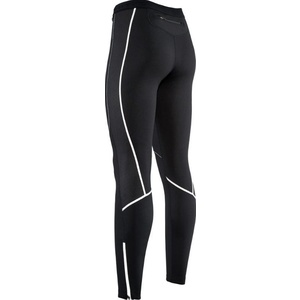 Femeii elastic cald pantaloni cu cyklovložkou Silvini RUBENZA WP1315 negru, Silvini