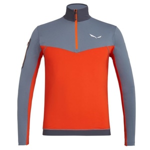 sacou Salewa Ortles M L/S ZIP TEE 27173-0311, Salewa