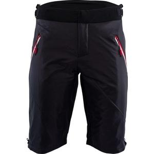 Pentru bărbaţi pantaloni scurţi primaloft Silvini baril MP1303 negru-rosu, Silvini