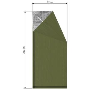 izoterm folie Cattara SOS verde cilindru 200x92cm, Cattara