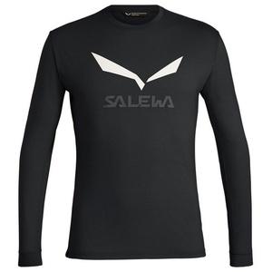 cămașă Salewa SOLIDLOGO DRY M L/S TEE 27340-0936, Salewa