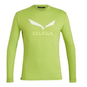 cămașă Salewa SOLIDLOGO DRY M L/S TEE 27340-5257, Salewa