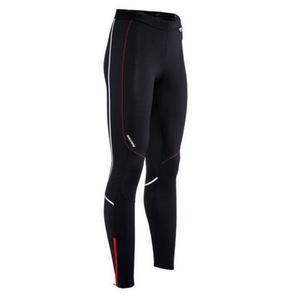 Pentru bărbaţi elastic pantaloni Silvini MOVENZA MP1312 negru roșu, Silvini