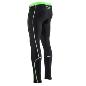 Pentru bărbaţi elastic cald pantaloni Silvini RUBENZA MP1319 negru verde, Silvini