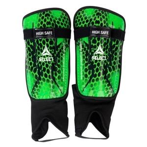 Protectori fluierul piciorului Select fluierul piciorului gărzi Mare sigur verde negru, Select