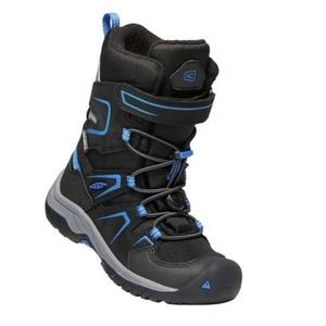 Copii pantofi Keen levo iarnă WP (C), black / balein albastru, Keen