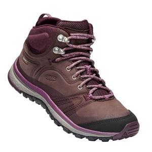 Femeii pantofi Keen Terradora piele MID WP W, boabe de porumb / vin degustare, Keen