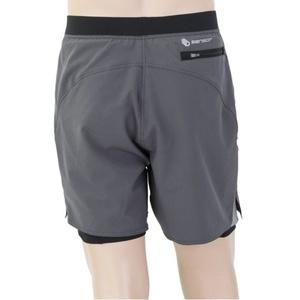 Pentru bărbaţi cruce țară pantaloni scurţi Sensor TRAILšortky gri / negru 19100008, Sensor