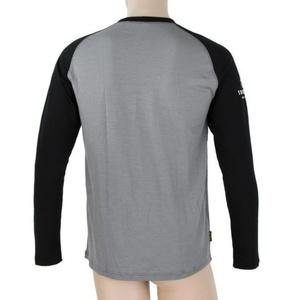 Pentru bărbaţi cămașă Sensor merinos DF Adventure dl.rukáv gri / negru, Sensor