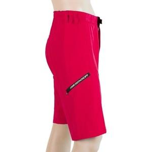 Femeii ciclism pantaloni Sensor heliu red 19100031, Sensor