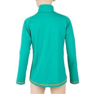 Copii cămașă Sensor Thermo dl.rukáv zip verde deschis / ufo, Sensor