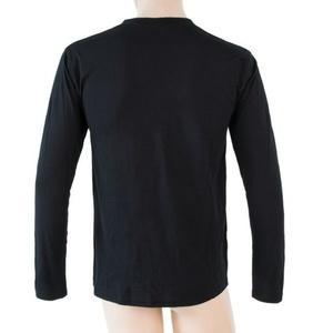 Pentru bărbaţi cămașă Sensor MERINO ACTIVE PT LABEL negru 18200016, Sensor