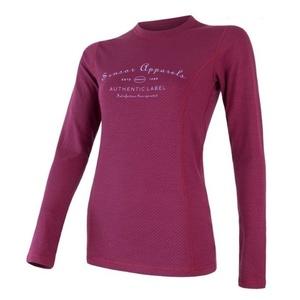 Femeii cămașă Sensor MERINO DF LABEL lilla 18200020, Sensor