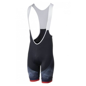 Ciclism pantaloni scurţi Rogelli ISPIRATO 2.0 cu gel cyklovýstelkou, negru-rosu 002.400., Rogelli