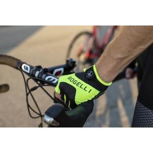 Ciclism manusi Rogelli Arioso, reflecție galben 006.001., Rogelli