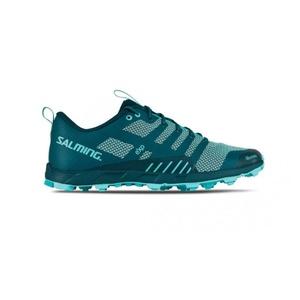 Pantofi Salming OT Comp femei adâncime TShel / Aruba albastru, Salming
