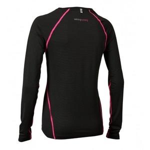 Femeii cămașă Salming echilibru LS reper femei Negru, Salming