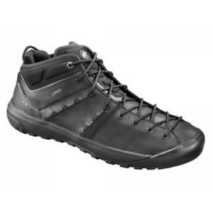 Pantofi Mammut Hueco avansat la mijlocul GTX® bărbaţi negru-negru 0052, Mammut