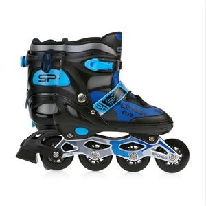 Spokey RISE skates patine reglementate, ABEC 7 carbon negru-albastru, vel. 39-43, Spokey