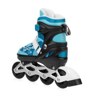 Spokey RISE skates patine reglementate, ABEC 7 carbon turcoaz, vel. 39-43