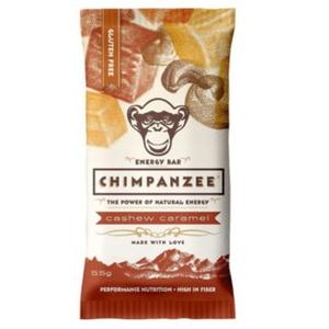 CHIMPANZEE BOX ENERGIE BAR DE acaju caramel 20ks, CHIMPANZEE