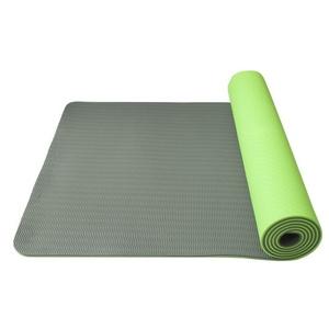 mașină de spălat pe yoga yoga șah-mat double layer, material TPE verde / gri, Yate
