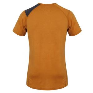 Pentru bărbaţi merinos cămașă Husky Wolf portocalie-brună, Husky