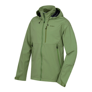 pentru bărbați softshell jacheta Sauri M tm.zelená, Husky