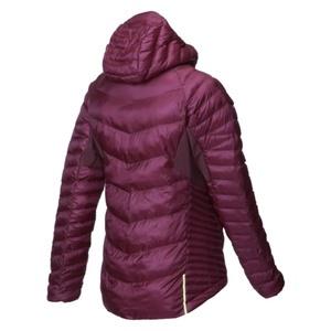 jogging jacheta Inov-8 THERMOSHEL L PRO FZ W 000733-PLRD-01 violet cu roșu, INOV-8