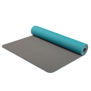 mașină de spălat pe yoga yoga șah-mat double layer material TPE turcoaz / gri, Yate