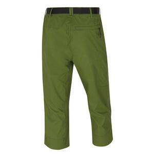 Femeii 3/4 pantaloni Husky cler (L) tm. verde, Husky