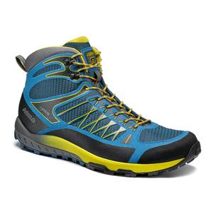 Pantofi Asolo grilă la mijlocul GV MM indian teal/yellow/A898, Asolo