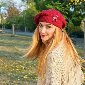 tricotat beretă Kama căprioare AD39-104 Kate, Kama