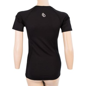 Femeii cămașă Sensor Coolmax TECH kr.rukáv negru 20100021, Sensor
