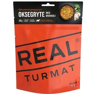Real Turmat tocană carne de vită cu orez şi broccoli, 120 g, Real Turmat