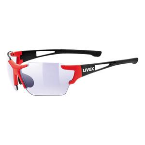 sport ochelari Uvex Stil Sport 803 RACE VM Negru Red șah-mat (2303), Uvex