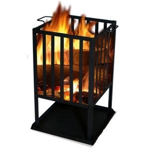 pătrat vatră SOL coş 45x45 cm, Lucifer