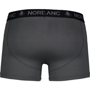Pentru bărbaţi bumbac boxeri Nordblanc adâncime gri NBSPM6865_TSD, Nordblanc