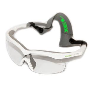 Ochelari EXEL GOGGLES HURRICANE alb / neon verde senior, Exel