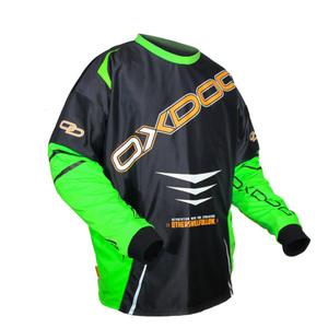 portar jersey OXDOG GATE Goalie SHIRT negru / verde, Oxdog