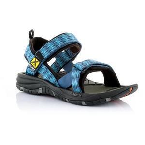 sandale SOURCE Gobi pentru bărbați triunghiurile albastru, Source