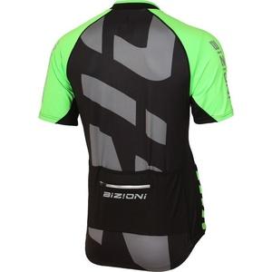 ciclo jersey Lasting MD74 negru-verde, Lasting