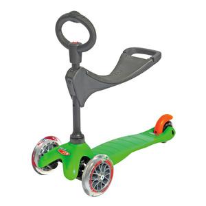 scuter Mini Micro 3 în 1 verde (verde), Micro