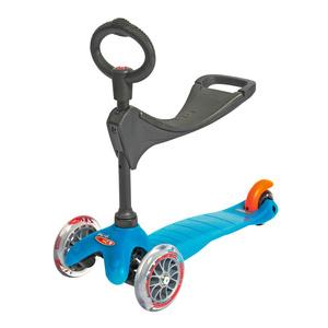 scuter Mini Micro 3 în 1 turcoaz (apă), Micro
