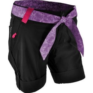Femeii gratuit pantaloni scurţi Silvini Cian WP806 negru-lila, Silvini