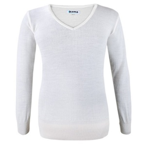 femeiesc pulover Kama 5101 101 natural alb, Kama